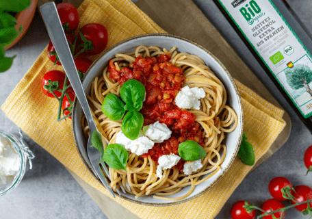 Vegetarisch/Vegane Küche zu den Rezepten