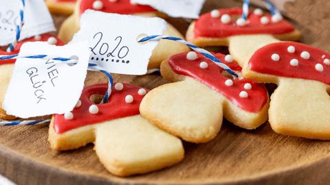 Glücksbringer-Kekse