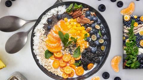 Fruchtige Frühstücksbowl