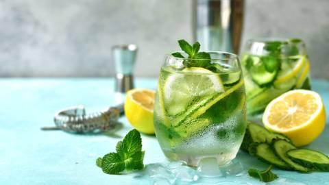 Gurkenwasser - Schlankmacher zum Trinken