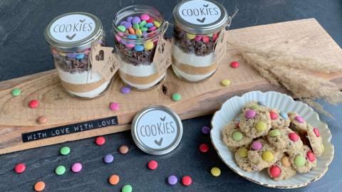 Cookies-Backmischung