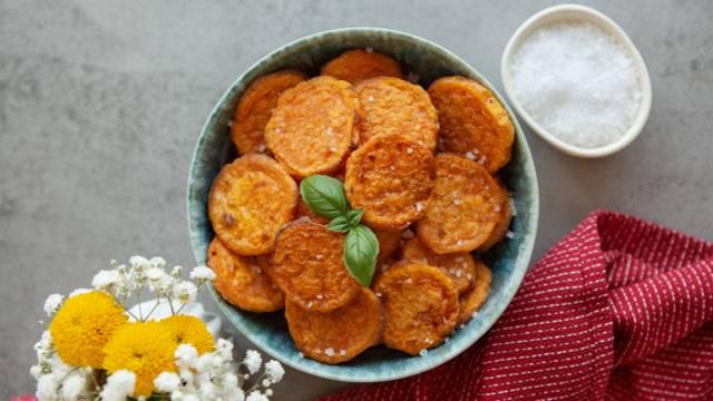 Süßkartoffelchips selber machen