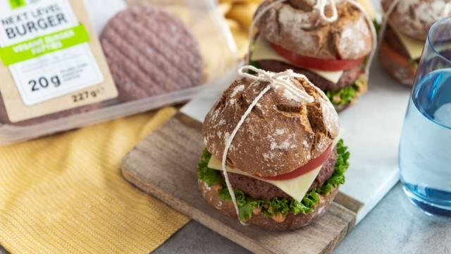 """Vegetarische Burger mit Pattys von """"Next Level Burger"""""""