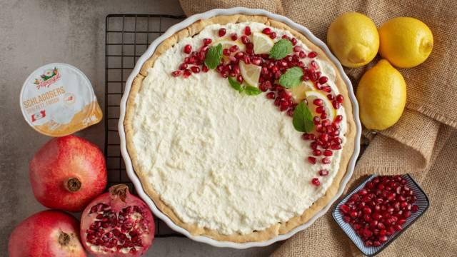 Extravagante Granatapfel-Tarte