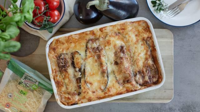 Melanzani-Lasagne