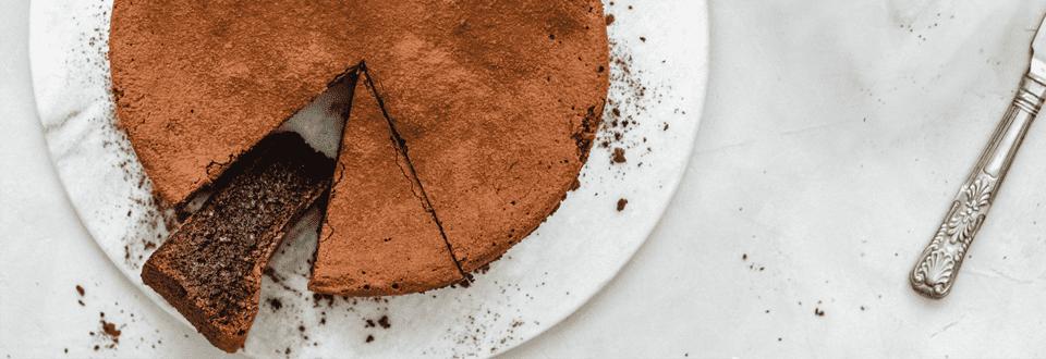 Glutenfreier Schokolade-Kuchen