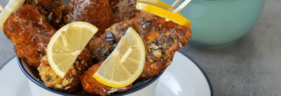 Dreierlei Mini-Hühnerschnitzel