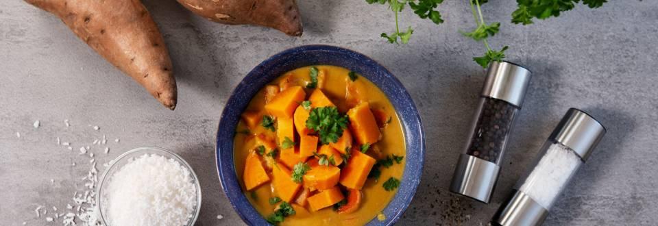 Vegetarisches Süßkartoffel-Curry