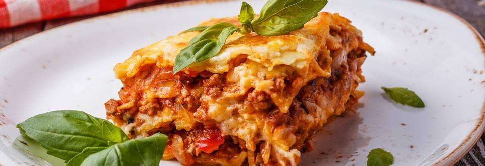 Original italienische Lasagne