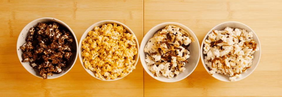 Popcorn-Varianten