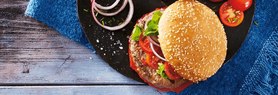 Klassicher Cheeseburger