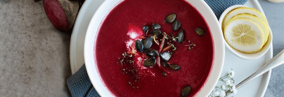 Frische Rote-Rüben-Suppe